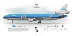 McDonnell Douglas MD-11 KLM Royal Dutch Airlines PH-KCE | Flickr