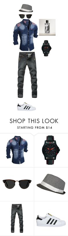 """""""Untitled #1"""" by aldinhusejnbasic on Polyvore featuring Traser, Ace, adidas, Abercrombie & Fitch, men's fashion and menswear"""