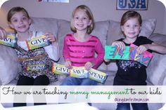Teaching Kids Money Management