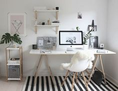 Home Office Space, Home Office Decor, Home Decor, Office Interior Design, Office Interiors, Bedroom Themes, Bedroom Decor, Study Room Decor, Desk Inspiration
