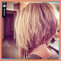 Graduated Bob Hairstyles, Bob Hairstyles For Thick, Hairstyles Haircuts, Graduated Haircut, Hairstyles For School, Hairdos, Blonde Bob Haircut, Lob Haircut, Bobs For Thin Hair