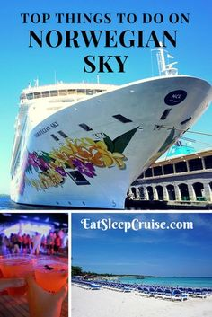To Things to Do on Norwegian Sky