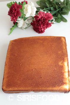 Basic Vanilla Sponge Cake -base for all your cakes | sirisfood.com