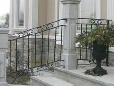 16 Best Wrought Iron Deck Railings Images In 2017
