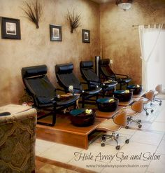 On your feet all day? Give them a little TLC with a pedicure. #Spa #Pedicure