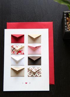 Love these tiny envelopes