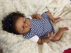 CMS -Beautiful Ethnic/ Biracial Reborn Baby Girl - Rare Kit - Marie by Olga Auer #Reborn