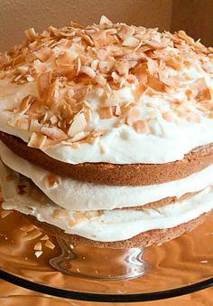 Gluten Free Coconut Carrot Cake
