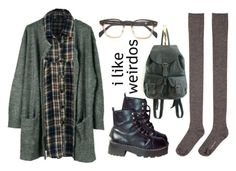 """""""Untitled #33"""" by twisted-candy ❤ liked on Polyvore featuring Julie Fagerholt Heartmade, Hansel from Basel and grunge"""