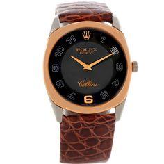 Rolex Cellini Danaos 18k White and Rose Gold Watch