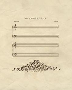 bestof-society6: The Sound of Silence by John Tibbott