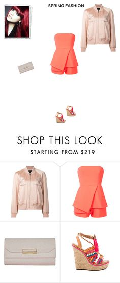 """Unbenannt #7602"" by pretty-girl-in-fashion ❤ liked on Polyvore featuring L'Oréal Paris, Alexander Wang, Jay Godfrey, Montblanc, Schutz, AlexanderWang, springfashion, montblanc and JayGodfrey"