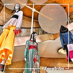 This is TRIBE according to #Zara. Make your TRIBE unique and express your identity or mood. #MakeItYourTribe Want to know more about TRIBE? Click on the images 👇🏽 #zara #tribe #tribebbybonaveri #mannequin #manichino #fashion #retaildisplay #retail #vm #visualmerchandising #visualinspiration #follow4follow #followme #followmefollowyou #bonaveri #milano #salonedelmobile2017 #salonedelmobile #styleit