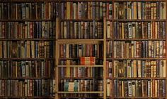 I want a wall of books because I love books so, so much and it is a great idea