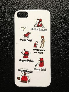 Dr Who Dalek Phone case for iphones or samsung phone by Hx5Designs, £6.99