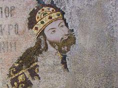 Ισαάκιος Κομνηνός(16 Ιανουαρίου 1093 - 1152) Detail of Mosaic, Chora Museum, Istanbul, Turkey Byzantine Art, Orthodox Christianity, Romania, Mosaics, Basel, Art History, Mosaic
