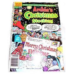 obm006387: Archie's Christmas Stocking
