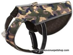 These Camo Pattern Dog Harness vests are adjustable with an ergonomic fit to allow for maximum mobility. Doggy Stuff, Collar And Leash, Dog Harness, Small Dogs, Camo, Belt, Pattern, Accessories, Fashion