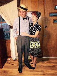 kevin is lucy ricky ricardo costume - I Love Lucy Halloween Costumes