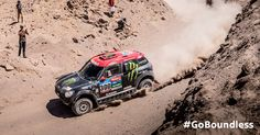Going for a photo finish. MINI makes an impression at the Dakar Rally.