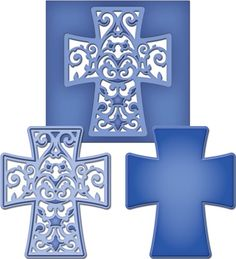 Spellbinders Shapeabilities Die D-Lites - Filigree Cross