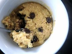 Single serving oatmeal cookie...MICROWAVABLE