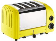 Dualit Classic Vario AWS Citrus Yellow 4 Slot Toaster