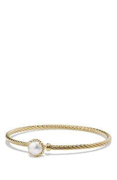 David Yurman 'Châtelaine' Bracelet with Garnet in 18K Gold available at #Nordstrom