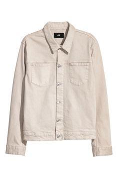Denim Jacket | Light beige | MEN | H&M US