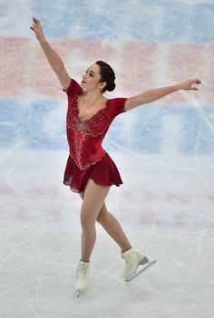 Canada's Kaetlyn Osmond competes in the women's free skating event at the ISU World Figure Skating Championships in Helsinki, Finland on March 31, 2017....Evgenia Medvedeva of Russia won the Gold medal ahead of Silver medallist Canada's Kaetlyn Osmond and Bronze medallist Canada's Gabrielle Daleman. / AFP PHOTO / John MACDOUGALL