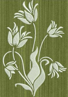 broderie blanche, fleur,motif broderie machine http://www.les-broderies-de-sylviane.fr/boutique/themes/fleurs-et-arbres/la-jolie-fleur-blanche.html