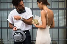 naimabarcelona: Patricia Manfield and boyfriend Giotto...