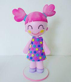 A boneca dela é Bela... #mundobita #bita #festamundobita #bonecalila #bonecabela #bela #lila
