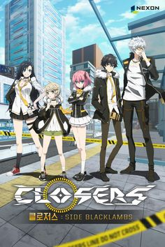 Closers: Side Blacklambs - Episode After the invading dimensional monsters were beaten back, Seoul was rebuilt. This is the story of Closers in New Seoul. Mysterious dimensional gates opened all o. Me Me Me Anime, Anime Love, Anime Guys, Anime Titles, Anime Characters, Closers Online, Korean Anime, Online Anime, Online Pic