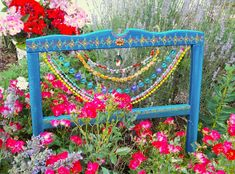 Bohemian Garden with Beads and Any Old Objects You Can Find