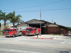 """LA County Fire Station 127, the original location for Station 51 on the TV show """"Emergency!"""""""