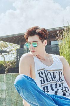 Lee Jong Suk - Arena Homme Plus