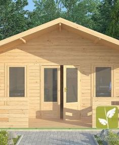 "Ref: 611 ""Ashford"" Log Cabin x Cabin size internal - x Bedroom size - x Bathroom size - x Pantry size - x Kitchen size - x Window S Kitchen Size, Window Sizes, Bedroom Size, Little Cabin, Tiny House Cabin, Porch Swing, Windows And Doors, Canopy, Shed"