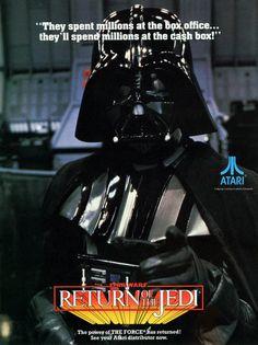 Star Wars Atari arcade game advert