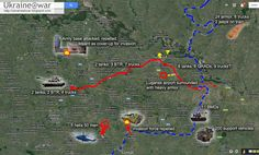 June 20, 2014  Open Russian invasion into Ukraine has begun A lot of messages came in of Russian units infiltrating the Ukrainian border today.  This map shows what we know:
