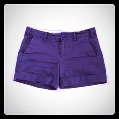 Anthropologie paper boy shorts Purple Anthropologie Other