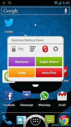 Aplicación para ahorrar batería en Android gratis - Movil-rom Smartphones Android, iPone, Windows, noticia tecnología, ROM