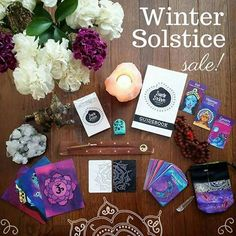 Ends tomorrow! Use code: WINTERSOLSTICE25 at checkout to receive 25% off the Seeds of Shakti Oracle deck + guidebook, postcards, magnets & silk bags