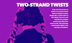 sleeping with two strand twists
