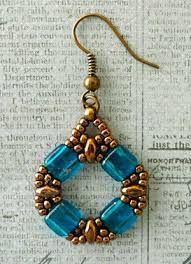 Bildergebnis für earrings beads