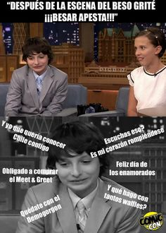 """Read from the story Fotos,Memes y Mileven """"Stranger Things"""" by janetnocontrol (JanetXia❄) with reads. Stranger Things Quote, Stranger Things Aesthetic, Stranger Things Netflix, Troll, Saints Memes, Memes Funny Faces, New Memes, Marriage Life, Relationship Memes"""