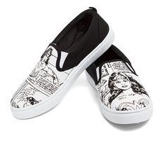 Wonder Woman Slip-On Sneakers