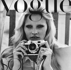 Lara at Vogue