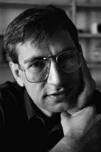 "Young Orhan Pamuk by Ara Güler.""who in the quest for the melancholic soul of his native city has discovered new nymbols for het clash and interlacing of cultures;"