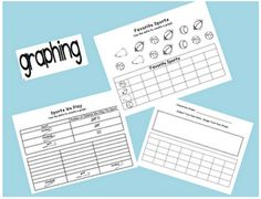 OH GOOD GOODY!  It's a set of FREE graphing activity sheets!
